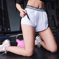 暴走的萝莉速干运动短裤女含内衬防走光薄款热裤透气瑜伽健身短裤