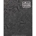 预订 Blank Sheet Music Notebook - 100 Pages Of Blank Manu* Pa