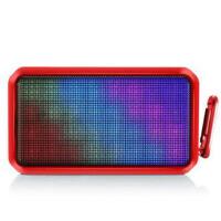 朗琴(ROYQUEEN)T600XL 无线蓝牙音箱便携 电脑手机音箱低音炮 炫彩小音响 音乐脉动4.0桌面音箱 赤焰红
