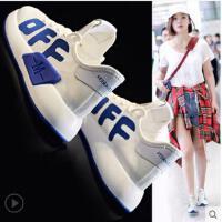 新款休闲运动鞋ins女韩版百搭小白鞋女透气跑步鞋女