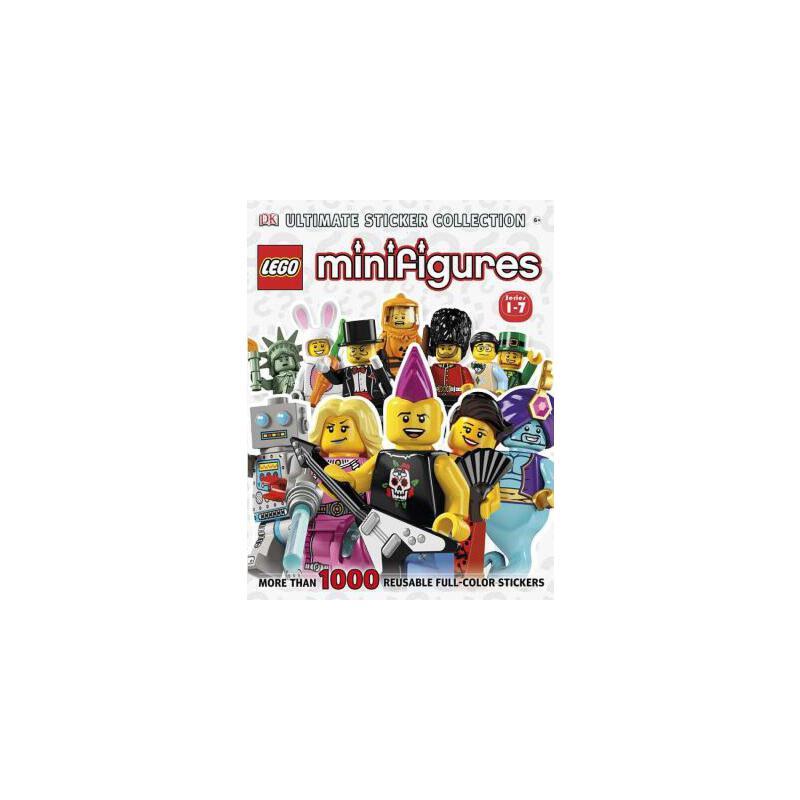 【预订】Lego(r) Minifigures (Series 1-7): More Than 1,000 Reusable Full-Color Stickers 预订商品,需要1-3个月发货,非质量问题不接受退换货。