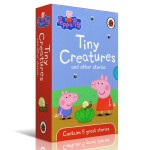 进口原版粉红猪小妹Peppa Pig 5册Tiny Creatures Other Stories