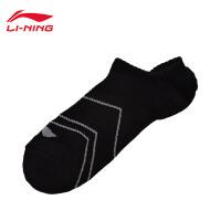 李宁袜子男士训练系列浅口袜船袜运动袜AWSM137