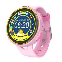 阿巴町儿童智能手表插卡彩屏触控女孩男孩学生电话定位拍照手机泡泡