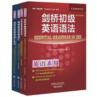 剑桥初级英语词汇及练习册+剑桥初级英语语法及练习册(剑桥英语在用English in Use丛书)(共4册网店)