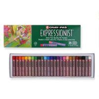 日本樱花25色油画棒 中粗绿盒樱花油画棒