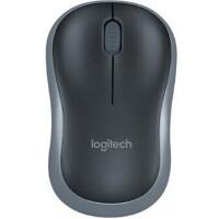 罗技(Logitech)M185 灰色 无线鼠标 接收器在鼠标的电池仓里面 节电设计鼠标底部的灯不亮的,