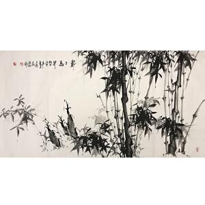 李半墨(节节高升)职业花鸟画家