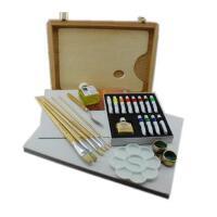 马利12色水调油画套装油画颜料套装油画框16件套1套装如图示