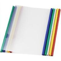 Q310抽杆夹 拉杆夹 A4透明文件夹 PP塑料简易拉杆式夹报告夹资料夹 10个/包
