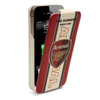 iFans苹果iphone4s背夹电池 足球移动电源 皮套手机壳 阿森纳版