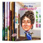 【中商原版】Who Was 系列作家6册套装儿童读物 英文原版 青少年读物 初级章节书 儿童文学 国外进口少儿读物