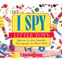 I Spy: Little Toys 视觉大发现:小玩具 9780545220965