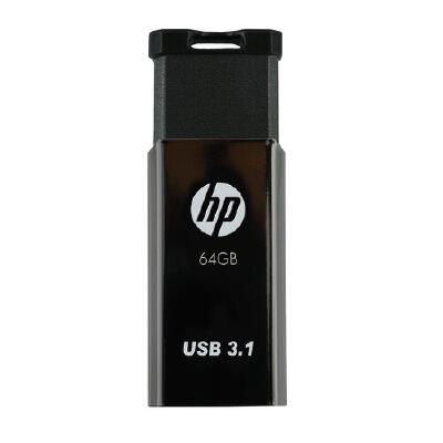惠普(hp)金属钩头U盘 V250W 64G 金属可以挂在钥匙串上 优盘 全国大部分地区包邮
