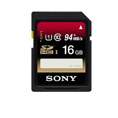 索尼SF-16UX 高速内存卡 SD16G 内存卡 相机 SD卡  摄像机 微单 单反高速存储卡 读取速度94M /S 微单有的格式不能用 建议买64G以上的