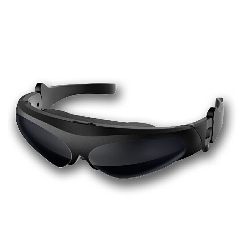 HD922树脂虚拟增强现实智能眼镜3D视频眼镜游戏头盔VR眼镜一体机全彩液晶微显示器 独特鼻夹设计