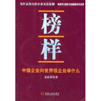 【二手书9成新】 榜样:中国企业向企业学什么 姜汝祥 机械工业出版社 9787111156673