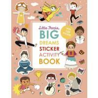 英文原版 小人物,大梦想 贴纸游戏书 名人传记绘本系列 Little People, Big Dreams Activi