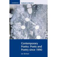 预订 Contemporary Poetry [ISBN:9780521712484]
