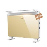 艾美特(Airmate) HC22083-W 欧式快热电暖炉 土豪金 防水 电暖器 电暖气