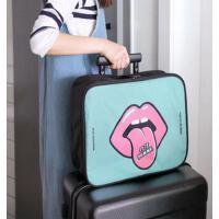 出差短途旅行包男小手提旅行袋斜跨女大容量行李收纳包可挂行李箱 支持礼品卡