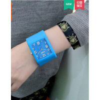 简约大方 男生手表韩版中学生潮男青少年潮流时尚硅胶表带果冻表