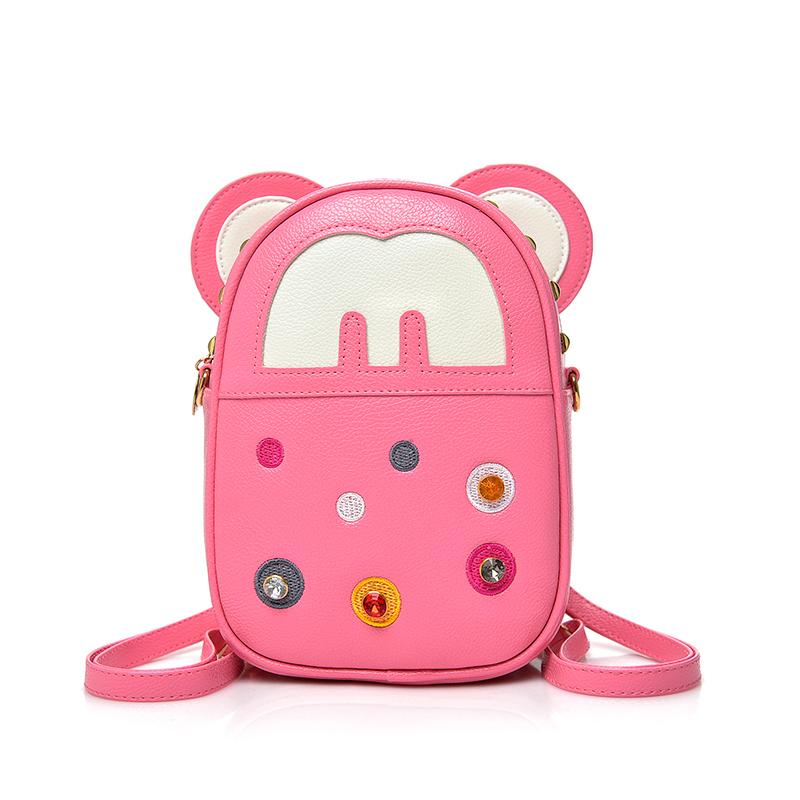 幼儿园小背包可爱迷你宝宝斜跨小包包双肩女童韩版时尚公主包