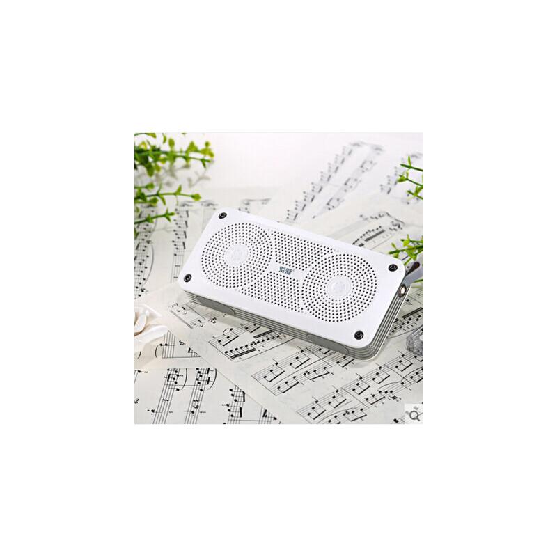 索爱 X6无线蓝牙音箱4.0低音炮便携迷你户外音响桌面2.1立体声 蓝牙4.0 双喇叭立体声 震撼低音 迷你便携