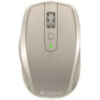 罗技(Logitech)无线便携鼠标MX Anywhere2 蓝牙优联双模式(哑光金)