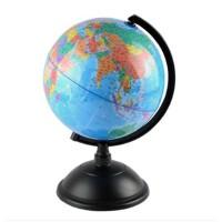 地球仪 精峰20CM高清彩印中文地球仪 学生教学地球仪摆件