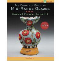 【预订】The Complete Guide to Mid-Range Glazes: Glazing and Fir