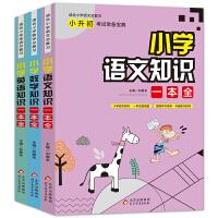 小学知识一本全(套装全3册)语文、数学、英语三科知识点全包括 小升初考试宝典