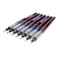 德国红环Rotring 一次性 绘图笔 红环针管笔 黑液