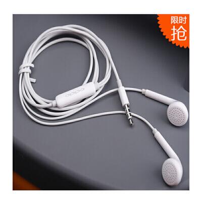 OPPO原装美标耳机 OPPO R9 R9plus R7s R7plus R7/t/c R5 R3 R1/c/s U3 A53 A51/K A33 A31/t/c/u A11 N3 N1/t N1mini Find7 3007 1107 R2017 R2010 R830/S R831/t/s 原装耳机 耳塞式线控耳机 oppo手机耳机 支持礼品卡