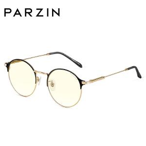 帕森2018新款光学眼镜女金属板材防蓝光时尚镜架男电脑眼镜162003