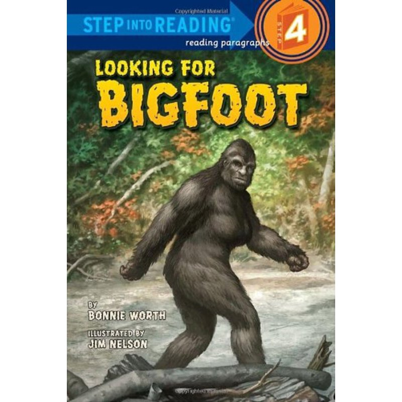 Step Into Reading Level 4: Looking for Bigfoot    ISBN:9780375863318