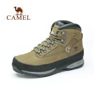 Camel骆驼 户外女款登山鞋 秋冬新款防水抗冲击高帮登山鞋