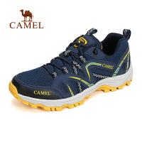 【每满100减50 200-100 300-150】【新品】CAMEL骆驼户外男款徒步鞋 防滑减震男款户外鞋登山鞋