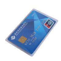透明无字 交通卡套 银行卡套 *件卡套 透明卡套 塑料卡套