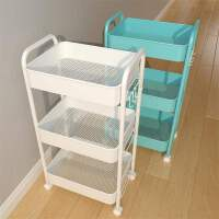 置物架小推车厨房落地多层零食储物架婴儿客厅卧室浴室移动收纳架