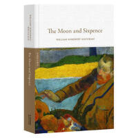 月亮与六便士The Moon and Sixpence(全英文原版,世界经典英文名著文库,精装珍藏本