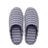 【9.11号全棉时代超品限时1件3折】 深蓝女士家居包跟鞋鞋号:250,码数:40,1件装