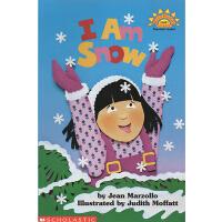 I Am Snow 我是雪 廖彩杏书单 Scholastic Reader L1 学乐分级科普阅读绘本图画书读物 英文