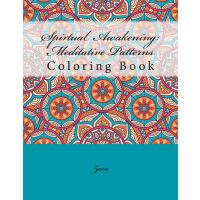 预订 Spirtual Awakening: Meditative Patterns: Coloring Book [