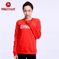 Marmot/土拨鼠2020春季新款户外运动中性柔软保暖舒适时尚卫衣