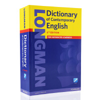 朗文英英词典 朗文当代高阶英英字典 第6版 全英文英语辞典 longman dictionary of Contemporary English 词根词缀