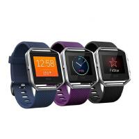现货 Fitbit Blaze GPS智能手表 运动计步器心率睡眠健康手环