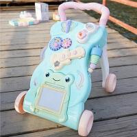 宝宝学步车推车手推车玩具婴儿学走路助步防侧翻儿童推推乐1-2岁