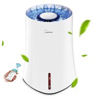 美的(Midea)空气加湿器 SZK-3B20 度数显示 智能控制 无雾蒸发加湿 办公室卧室家用 如莲花般绽放