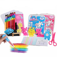 智高kk喷喷笔儿童 水彩笔绘画玩具套装礼盒